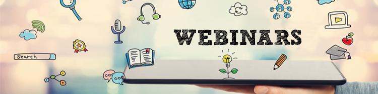 Webinars Banner Photo