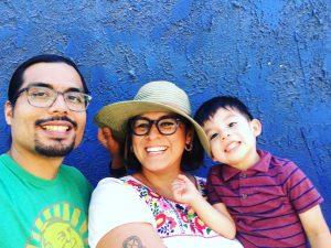 Christine, Alfredo, and son, Janitzio