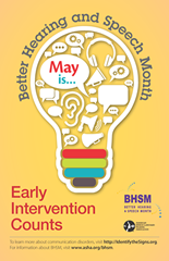 Download the 2015 Better Hearing & Speech Month poster