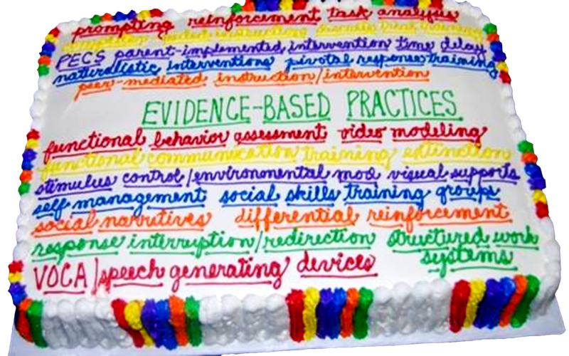 Evidence-based Practice cake
