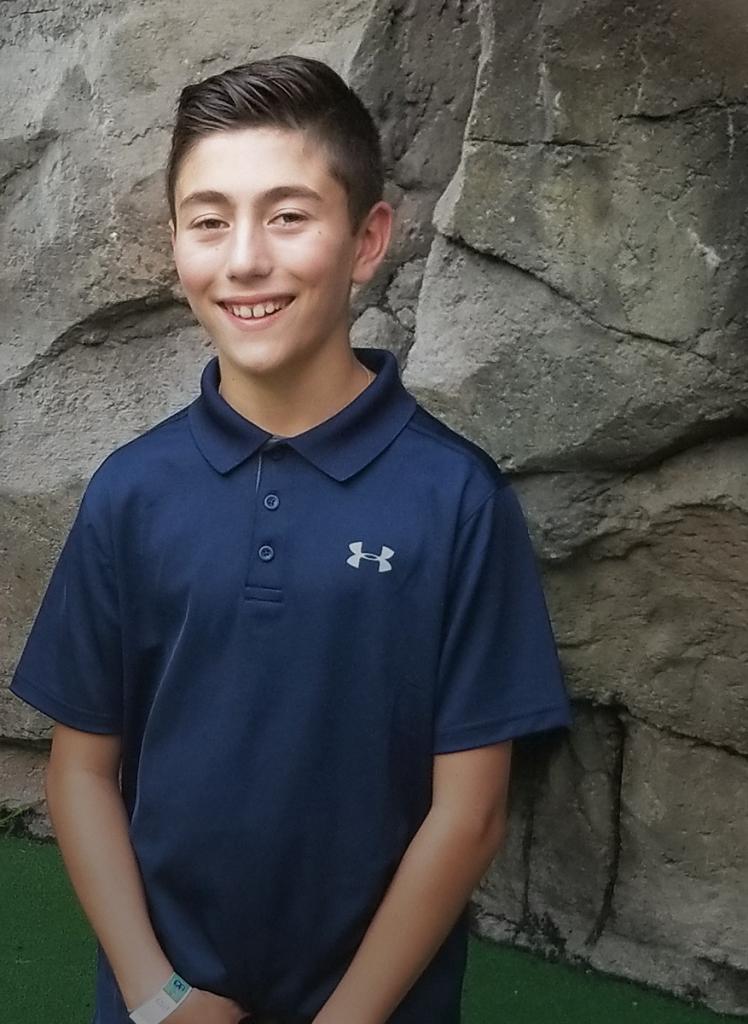Douglas Rawan II, a sixth-grader with dyslexia