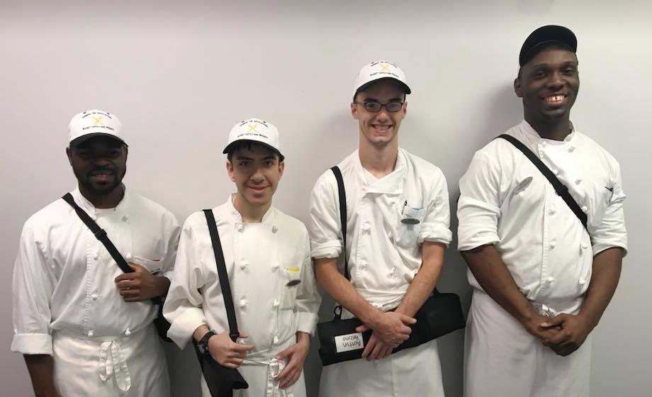 Hands On Hyatt trainees