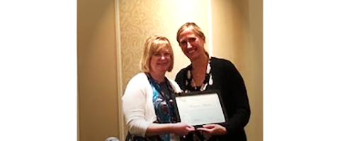 The first PEQA graduate, Margaret Alewine from South Carolina VR, presented her Capstone project, which designed to enhance the Comprehensive Statewide Needs Assessment (CSNA) related to services for youth and students, at the Summit Conference. She received her certificate at the completion of the conference.