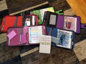 Colored Curricula Folders