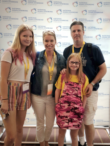 Dria and Family at NDSC Convention
