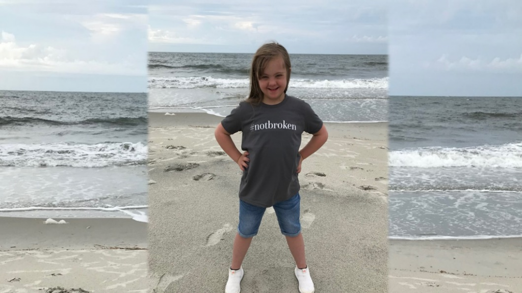 Zoe – my color coded sixth grader with mosaic Down syndrome