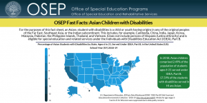 OSEP Fast Facts: Asian Children with Disabilities