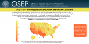 OSEP Fast Facts: Hispanic and/or Latino Children with Disabilities