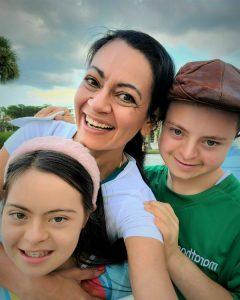 Ayelen, Eliana y Emir