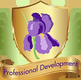 Professions Development seal and ribbon