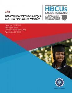 2013 HBCU Week Conference Program