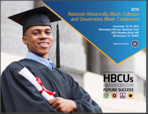 """2014 HBCU Week Conference, """"HBCUs Innovators for Future Success"""""""