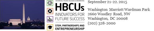 2015 NATIONAL HBCU WEEK CONFERENCE